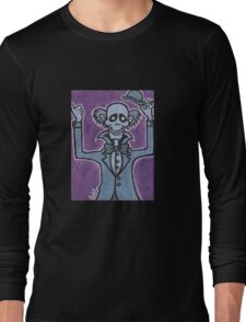 Ezra - Hitchiking Ghost - The Haunted Mansion Long Sleeve T-Shirt