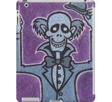 Ezra - Hitchiking Ghost - The Haunted Mansion iPad Case/Skin