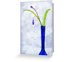 Simply Blues 2 Greeting Card