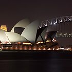 Sydney Opera House at Night by jhea5333