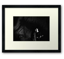 There's a bullet in my pocket burning a hole Framed Print