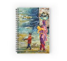 Collecting Firewood - photo Mothers Day by Bobby Dar Spiral Notebook