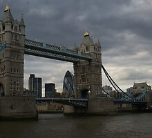 Tower Bridge, London England by Allen Lucas