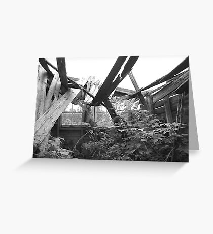 Collapsed Greeting Card