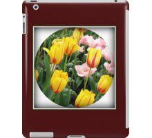 ' La Courtine' Tulips - Keukenhof Gardens iPad Case/Skin