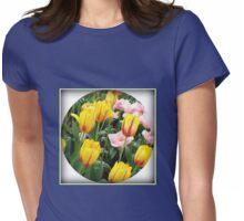 ' La Courtine' Tulips - Keukenhof Gardens Womens Fitted T-Shirt