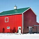 Red, Red Barn by Monnie Ryan