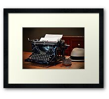 Chapter One Framed Print