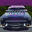 Happy Birthday Car by Coloursofnature
