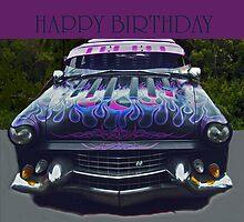 Happy Birthday Car by Coloursofnature