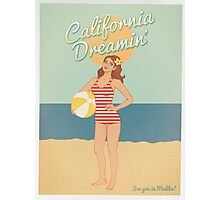 California Dreamin' Photographic Print