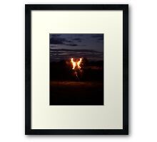 fourth of july wings Framed Print
