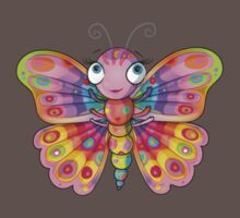 Rainbow Butterfly Kids Clothes