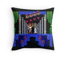 Angel Land Happy Ending Throw Pillow