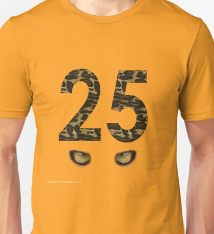 T-Shirt 25/85 (Parenting) by Charlie Brown Unisex T-Shirt