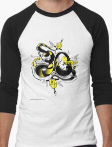 T-Shirt 30/85 (Workplace) by Luca Ionescu Men's Baseball ¾ T-Shirt