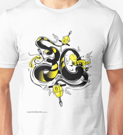 T-Shirt 30/85 (Workplace) by Luca Ionescu Unisex T-Shirt