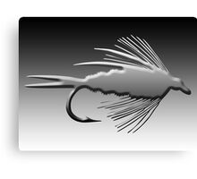 3D Fly Fishing Fly Canvas Print