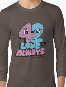 T-Shirt 42/85 (Relationships) by Jeremyville Long Sleeve T-Shirt