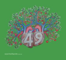 T-Shirt 49/85 (Relationships) by Gretchen Keelty by WEAR IT WITH PRIDE (ACON)
