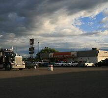 Truck Stop by David M. Bull