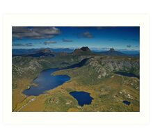 Cradle Mountain (Aerial) Art Print