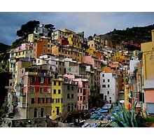 Riomaggiore, Cinque Terra, Italy Photographic Print