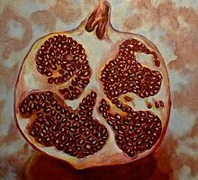 Pomegranate 1 by Melissa Shemanna