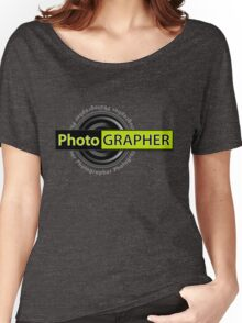 PhotoGRAPHER Hoodie Women's Relaxed Fit T-Shirt