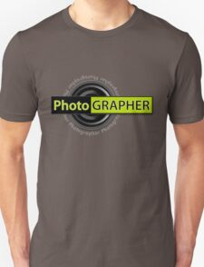PhotoGRAPHER Short Sleeve V-Neck T-Shirt
