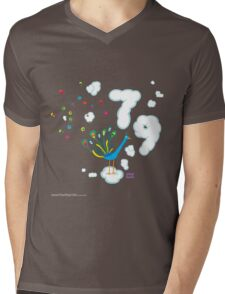 T-Shirt 79/85 (Health & Ageing) by Okayboss  Mens V-Neck T-Shirt