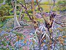 Wandering through Nature's Garden by scallyart