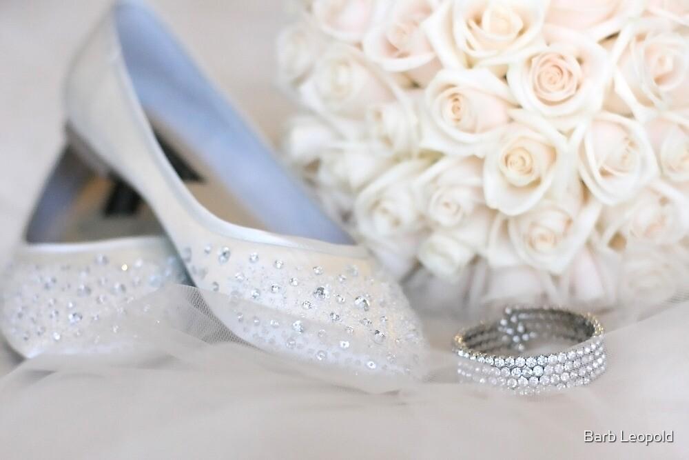 Slippers, Bracelet, Bouquet by Barb Leopold