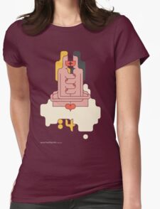T-Shirt 84/85 (Immigration) by Siggi Eggertsson Womens Fitted T-Shirt