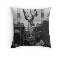 Electrical Malfunction Throw Pillow