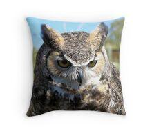 """Don't Blink"" Throw Pillow"