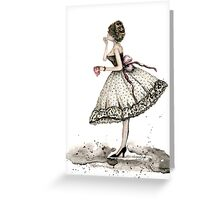 Fashion Doll No.10 Greeting Card