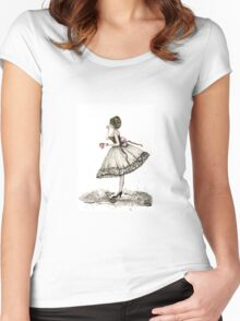 Fashion Doll No.10 Women's Fitted Scoop T-Shirt