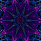 Purple Drape Kaleidoscope by fantasytripp