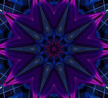 Purple Drape Kaleidoscope by fantasytripp