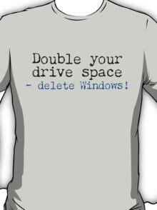 Double Your Drive Space Light Shirt T-Shirt