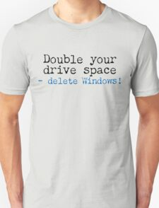 Double Your Drive Space Light Shirt Unisex T-Shirt