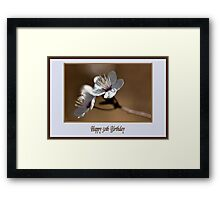 Happy 50th Birthday Framed Print