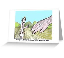 rock paper scissors Greeting Card