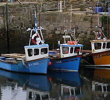 Boats In The Harbour1 by illman