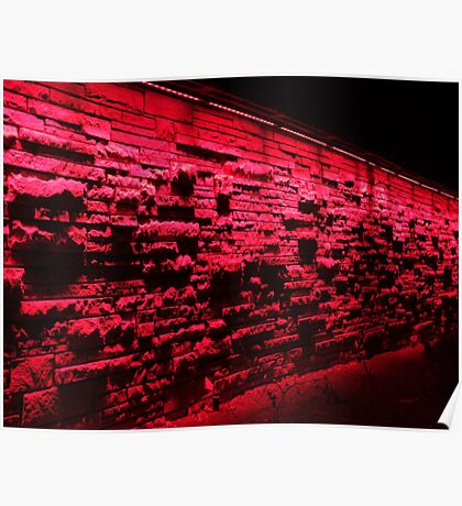 Red Stonewall, Denver Botanics Poster