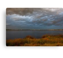 Evening Storms Canvas Print