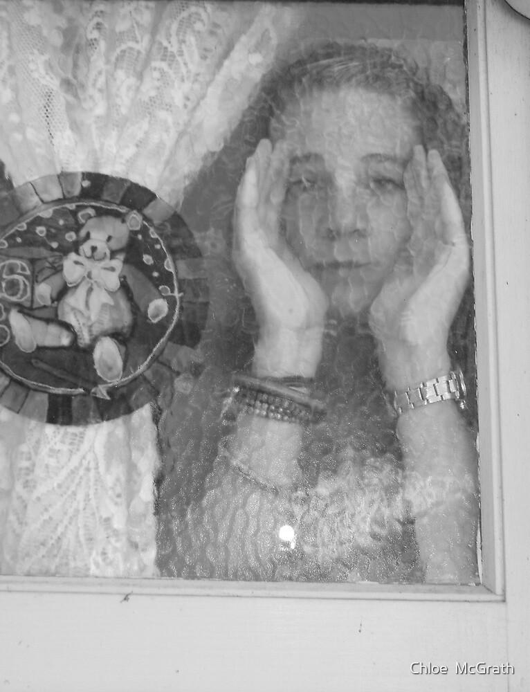 Looking through the Window  by Chloe  McGrath