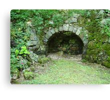 Moss-covered Structure - Built by Native Americans Canvas Print