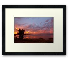 Pastel Skies Framed Print